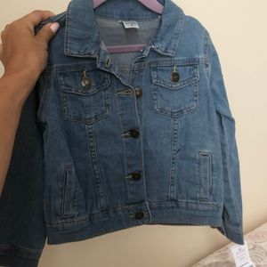 Carter's denim jacket